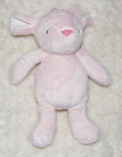Carters Pink Mouse Plush Soft Toy Tags Stuffed Animal Sleeping Closed Eyes
