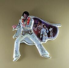 Elvis:  His Legend Lives On A SHIMMERING LEGACY Plate #1 First Issue Presley