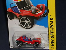 Hot Wheels HW OFF-ROAD Off Track #114  Meyers Manx  Red w/ MC5s