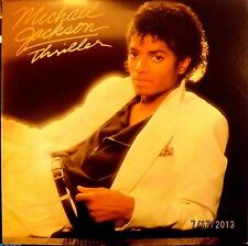 "MICHAEL JACKSON - Thriller (Epic/1982) ""Beat It"",""Billie Jean"",""Baby Be Mine"""