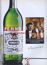 "Pernod ""Wear His Meal"" 1993 Magazine Advert #2613"