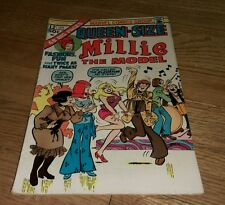 1975 Vintage Comic book Millie The Model Queen Size #12 Psych Rock Fashion Hippy