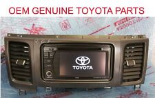 2011 2012 2013 2014 GENUINE TOYOTA SIENNA NON JBL NAVIGATION W SD MAP BLUETOOTH