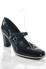 New Sigerson Morrison Blue Patent Leather Mary Jane Pumps Size 6