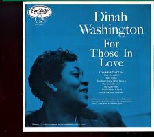 Dinah Washington / For Those In Love