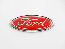 Red Ford Oval Badges Mondeo / Cortina / Fiesta / Focus ETC .Brand New