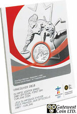 2007 Official First Day 25-Cent Curling Coin (12074)