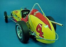 1 Vintage Racer Race Sport car Midget Sprint 12 Dirt 1960s Indy Carousel Red 18