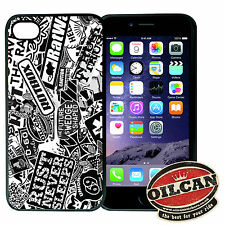 B&W ADHESIVO BOMBING Iphone compatible funda, se adapta a 4s 4 plástico negro