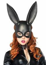 Leg Avenue Sexy Bunny Ears Costume Face Mask, Black, One-Size