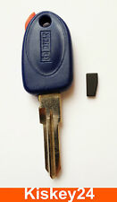 key blank with Transponder For Fiat Punto Bravo Brava Coupe Marea