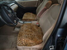 Seat Covers for Bucket Seats- Bottoms Only (Leopard)-Price is for a pair (2)