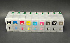 9pcs Refillable Ink Cartridges for Epson Stylus Pro 3880,UltraChrome K3 Pigment