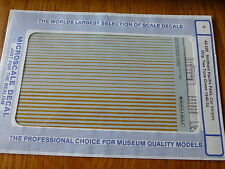 Microscale Decal O #48-320 Northern Pacific for: Passenger Car Stripes (1946-53)