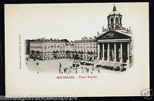 BELGIE 41.-BRUXELLES -Place Royale (Ed. Jules Nahrath)