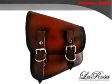 New La Rosa Vintage Shedron Leather Harley V Rod VRSCDX VRSCAW Left Saddle Bag