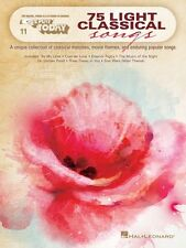 75 Light Classical Songs Sheet Music E-Z Play Today Book NEW 000137580