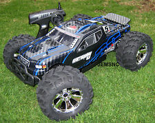 Redcat Racing RC EARTHQUAKE 3.5 1/8 SCALE R/C NITRO MONSTER TRUCK! VERY Fast! B