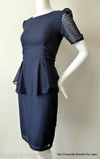 Project D Dress Size 6 US 2 Blue rrp $727.00