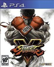 PS4 Street Fighter V 5  NEW Sealed Region Free USA Game