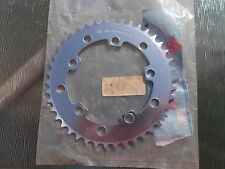 OLD SCHOOL BMX NOS TUF NECK 42T POWER GEAR SPROCKET 110 130 BCD SILVER gt pro