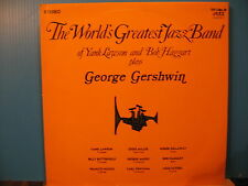 THE WORLD's GREATEST JAZZ BAND Yank Lawson+BOB HAGGART play GERSHWIN Free UKpost