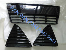 Set Highlight Paint FRONT Bumper GRILL Grilles vents for FORD FOCUS 2012-2014