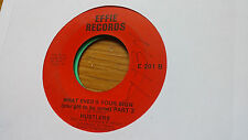 Hustlers 45 What Ever's Your Sign Pts 1/2 Effie 201 Rare Crossover Soul Funk