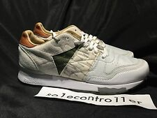 Reebok  GS Garbstore CL Leather 6000 M48355 White/Moss Green/Ginger Mens Size 10