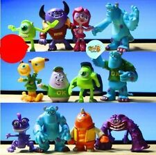 12pcs Set Monsters Inc. Monsters University Mike Sully PVC Figure Toy