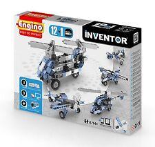 ENGINO Inventor Series - 12 modello-aeromobili-Set di costruzione