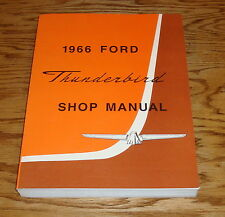 1966 Ford Thunderbird Shop Service Manual 66 T-bird