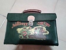 Vintage 60's The Muppet Show Green School Bag Made in Greece New Old Stock Rare