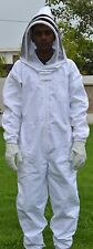 5XL Full Body cover Bee Keeper  thick cloth Suit with Vail beekeeping beekssuit