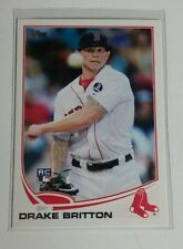 2013 Topps Update ROOKIE Drake Britton # US144 Red Sox Mint RC