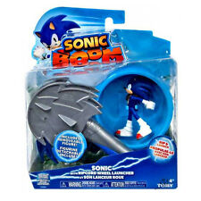 Sonic Boom - Sonic Figure with Ripcord Wheel Launcher  *BRAND NEW*