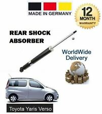 FOR TOYOTA YARIS VERSO 1999-2005 NEW 1 x REAR SHOCK ABSORBER SHOCKER
