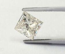 .28-.30 Carat Loose Square Princess Cut Natural Diamond SI2 H 3.75 x 3.74 x 2.50