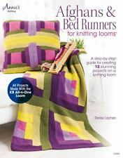 AFGHANS & BED RUNNERS FOR KNITTING LOOMS (978159 - DENISE LAYMAN (PAPERBACK) NEW