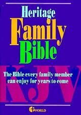Heritage Deluxe Family Bible, , Excellent Book