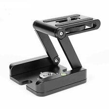 Camera Folding Z Tripod Flex Pan&Tilt Ball Head Desktop Stand Holder Aluminum