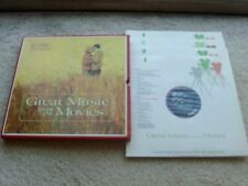 GREAT MUSIC from MOVIES,4 LP BOXED SET+BOOK+BOOKLET+3 INSERTS+ORIG.INNER SLEEVES