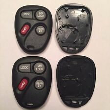 2 New Replacement 4 Button Keyless Remote Cases + Pads ABO1502T 16245100-29