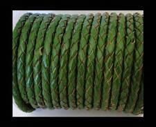1,5/10 Ajustable 100% De Piel Trenzado Cordón Para Collar 3mm/18
