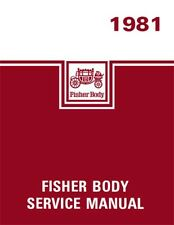 1981 General Motors Fisher Body Service Shop Repair Manual