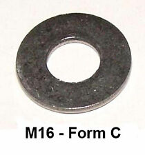 M16 Stainless Steel Washers (33mm o.d FMC) Pack of 10
