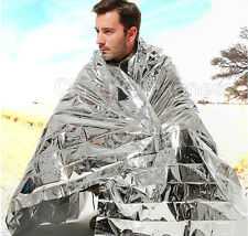 1 Pcs Emergency Blanket Survival Insulating Mylar Thermal 130*210cm
