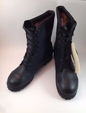 NWT Belleville Thinsulate Gortex Waterproof Black Military Boots 10.5 W ICW NEW