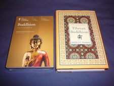 Teaching Co Great Courses DVDs          BUDDHISM  (24 lectures)    new + BONUS