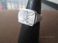 very rare submariners german wwii imperial eagle ring  will size